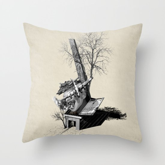 Immerse & Pondering Throw Pillow