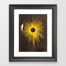 Beaming Framed Art Print