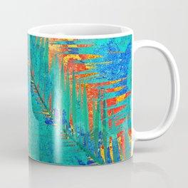 Vibrant jungle for Frida Coffee Mug