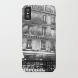 Driving Past the Cafe iPhone Case