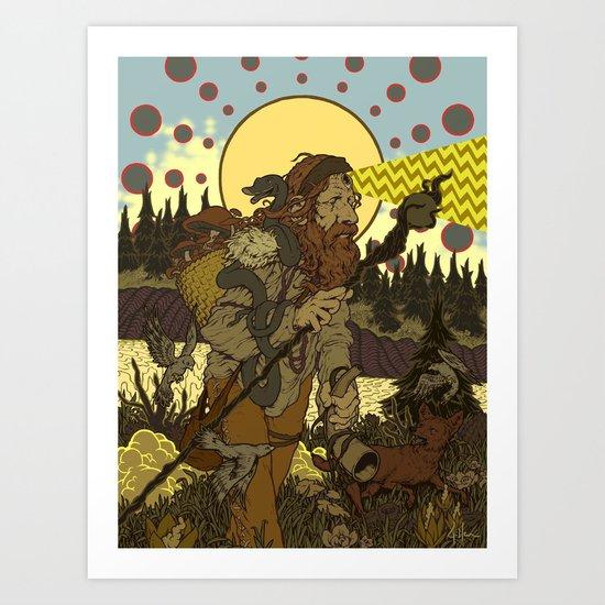 Vision Trapper Art Print