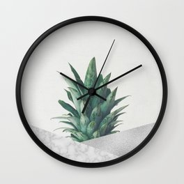 Pineapple Dip VIII Wall Clock