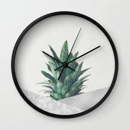 Pineapple Dip VIII Wall Clock