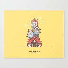 The Burrow Canvas Print