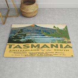 Vintage poster - Tasmania Rug