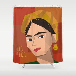 Frida Khalo Cubism Edition 2 Shower Curtain