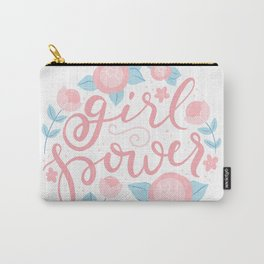 Girl power - hand lettering Carry-All Pouch
