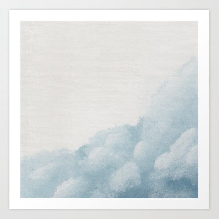 Dare to Dream - Cloud 5 of 100 Art Print