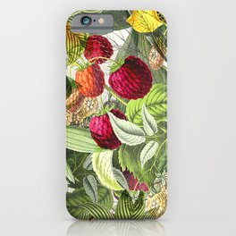 Vintage Tropical iPhone Case