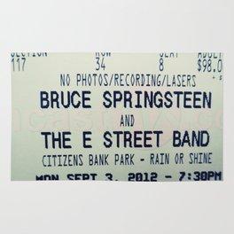 Bruce Springsteen & the E Street Band: Rain or Shine Rug