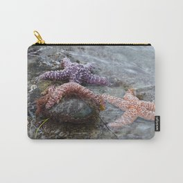 Sea Stars (starfish) chilling by Aloha Kea Photography Carry-All Pouch