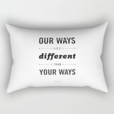 Us and Them: Chief Seattle Rectangular Pillow