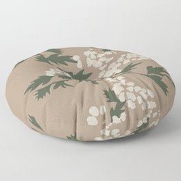 Minimalist Botanicals Queen Anne's Lace Floor Pillow