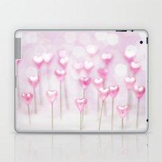 Pretty Pink Hearts Laptop & iPad Skin