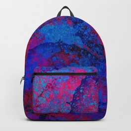 Abstract Spray Backpack