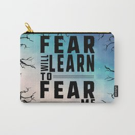 Shatter Me - Fear Carry-All Pouch