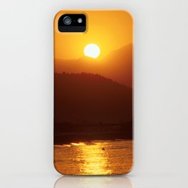 Beautiful Sunset - Red #2 iPhone Case