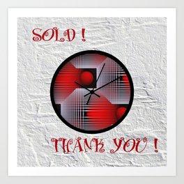 sold! thank you! BLOG POST Art Print