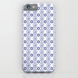 Hamsa Star of David Pattern iPhone Case