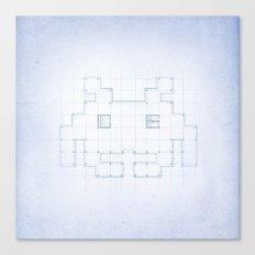 A SPACE PLAN Canvas Print