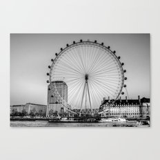 London Eye, London Canvas Print