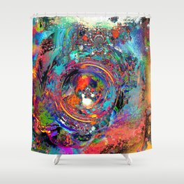 Torn at the Seams Shower Curtain
