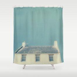 Polaroid lovers ~ Summer roof Shower Curtain