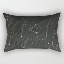 The Trouvelot Astronomical Drawings (1881) - The November Meteors, 1868The November meteors. As obse Rectangular Pillow