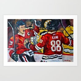 Toews and Kane Art Print