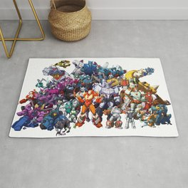 30 Days of Transformers - More Than Meets The Eye cast Rug