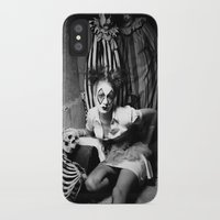 nurse iPhone & iPod Cases featuring Nurse & Clowns by Flashbax Twenty Three