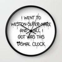 All I Got Was This Dismal Souvenir Wall Clock