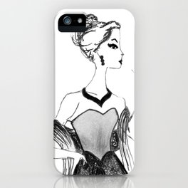 Glitter + Glam // Fashion Print iPhone Case