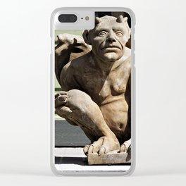 Porch Guardian Clear iPhone Case