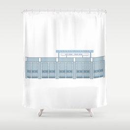 Dodger Stadium Left Field Gates Shower Curtain