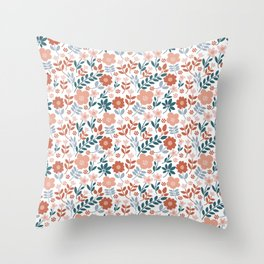 sping flowers Throw Pillow