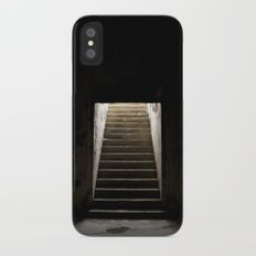 Stairs of Light Slim Case iPhone X