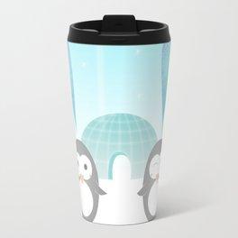 Artic hearts Travel Mug