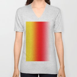 Ombre Sunset Unisex V-Neck