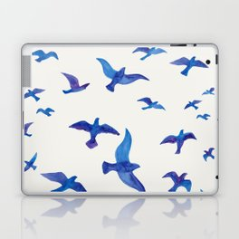 Blue Birds Laptop & iPad Skin