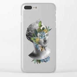Cactus Face Clear iPhone Case