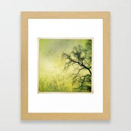 speckle. Framed Art Print