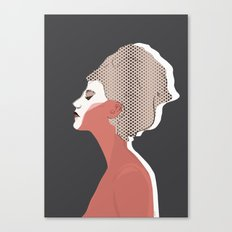 Think Twice Canvas Print