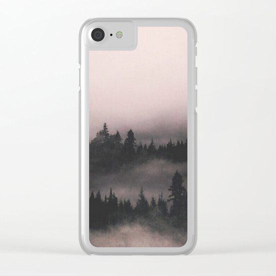 When the fog comes in Clear iPhone Case