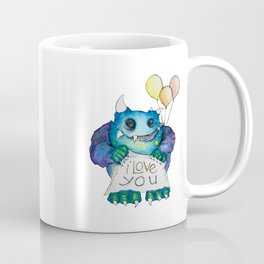 I Love You Monster  Coffee Mug