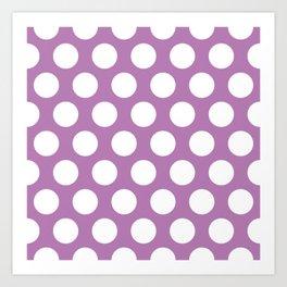 buddleia dots pattern Art Print