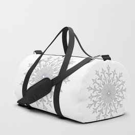 White Christmas Duffle Bag