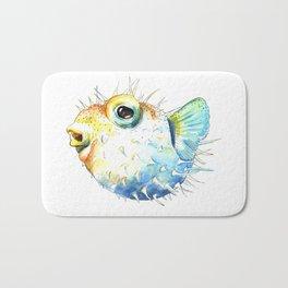 Pufferfish - Puffed up Bath Mat