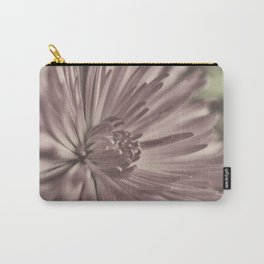 Lavender Spider Mum Carry-All Pouch