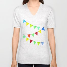 Hurray for boys! Unisex V-Neck